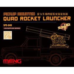SPS-040 Pickup Mounted Quad Rocket Launcher (RESIN)