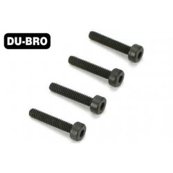 DUB2279 Screws - 4.0mm x 18 Socket-Head Cap Screws (4 pcs per package)