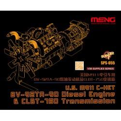 SPS-055 U.S.M911 C-HET 8V-92TA-90 Diesel Engine & CLBT-750 Transmission(resin)