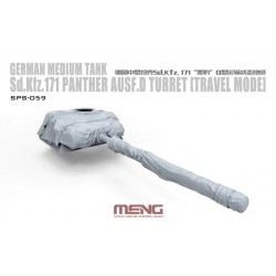 SPS-059 German Medium Tank Sd.Kfz.171 Panther Ausf.D Turret(Travel Mode)(RESIN)