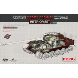 SPS-062 German Heavy Tank Sd.Kfz.182 King Tiger (Porsche Turret) Interior Set