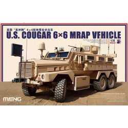 SS-005 U.S. Cougar 6x6 MRAP Vehicle
