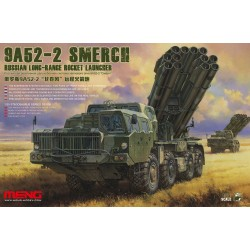 SS-009 Russian Long-Range Rocket Launcher9A52-2 Smerch