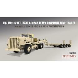 SS-013 U.S. M911 C-HET(8x6)& M747 Heavy Equipme Semi-Trailer