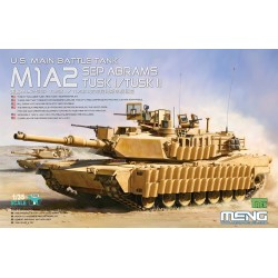 TS-026 U.S.Main Battle Tank M1A2 SEP AbramsTUSK TUSK I/TUSK II