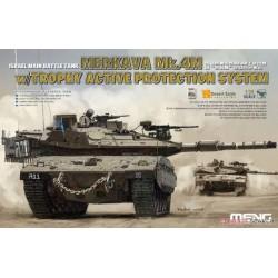 TS-036 Israel Main Battle Tank merkava Mk.4M w/Trophy Active Protection System
