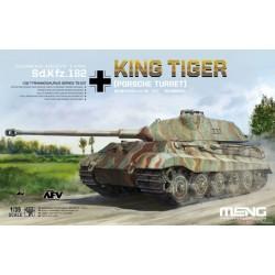 TS-037 German Heavy Tank Sd.Kfz.182 King Tiger (Porsche Turret)