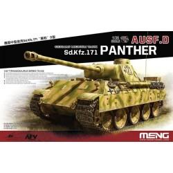 TS-038 German Medium Tank Sd.Kfz.171 Panther Ausf.D