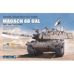 TS-044 Israel Main Battle Tank Magach 6B GAL