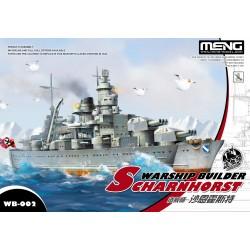 WB-002 Warship Builder-Scharnhorst(cartoonized model kit)