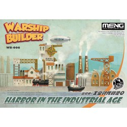 WB-006 Warship Builder-Harbor In The Industrial Age (CARTOON MODEL)