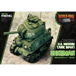 WWT-002 U.S.Medium Tank M4A1 Sherman