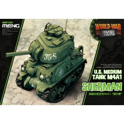 WWT-002 U.S.Medium Tank M4A1 Sherman