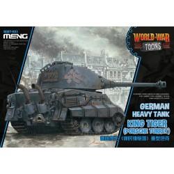 WWT-003 German Heavy Tank King Tiger (Porsche Turret)(cartoon model)