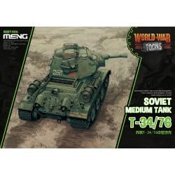 WWT-006 Soviet Medium Tank T-34/76(Cartoon Model