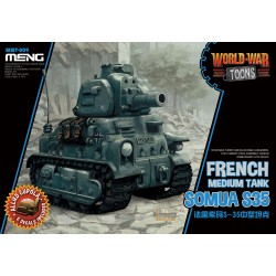 WWT-009 French Medium Tank Somua S-35 (Cartoon Model)