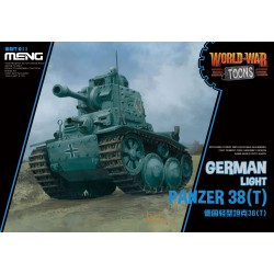 WWT-011 German Light Panzer 38(T) (CartoonModel)