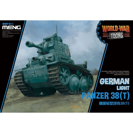 WWT-011 German Light Panzer 38(T) (CartoonModel)