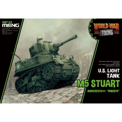 WWT-012 U.S. Light Tank M5 Stuart (Cartoon Model