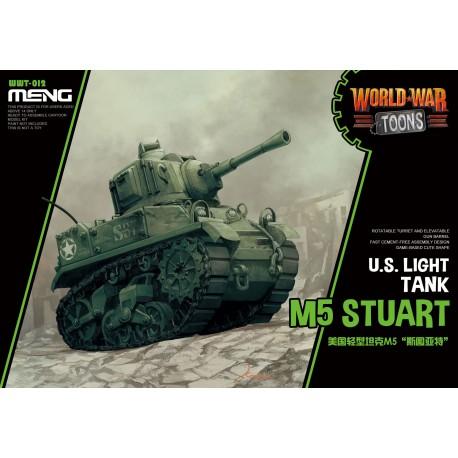 WWT-012 U.S. Light Tank M5 Stuart (Cartoon Model