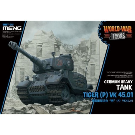 WWT-015 German Heavy Tank Tiger (P) (Cartoon Mod