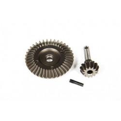 AX30395 Jeu d'engrenages coniques robustes - 38T / 13T
