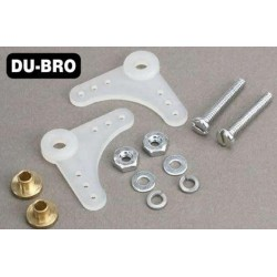 DUB167 Aircrafts Parts & Accessories - 90 Nylon Bellcrank Assembly (2 pcs per package)