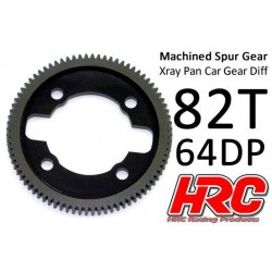 HRC764X82 Couronne - 64DP - Delrin Low Friction usiné - Ultra Light - TSW Pro Racing - Xray Pan Car – 82D