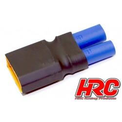 HRC9132T Adaptateur - Version Compacte - Prise EC5 Prise accu XT90