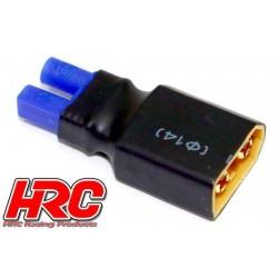 HRC9134K Adaptateur - Version Compacte - Prise EC2 Prise accu XT60