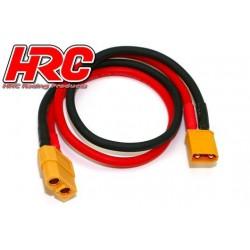 HRC9609 Câble de charge - doré - Prise chargeur XT60 à XT90