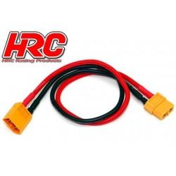 HRC9610 Câble de charge - doré - Prise chargeur XT60 à XT60