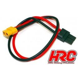 HRC9615 Câble de charge - doré - Prise chargeur XT60 à TRX