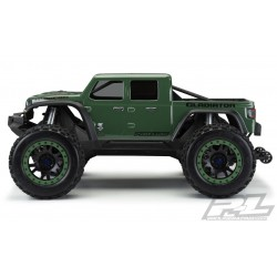 PL3533-17 Carrosserie - Monster Truck - Transparente - Jeep Gladiator Rubicon Pré-Coupée - Traxxas X-MAAX