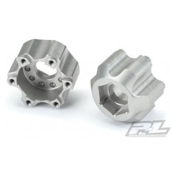 "PL6338-00 Option Part - 6x30 to 17mm Aluminium Hex Wheel Adapter for ProLine 6x30 2.8"" Wheels"