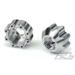 """PL6353-00 Wheel Adapters - 8x32 to 17mm 1/2"""" Offset Aluminum Hex Adapters"""