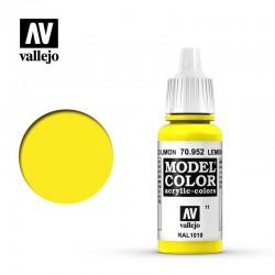 VAL70952 Jaune citron