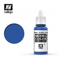 VAL70839 Bleu outremer