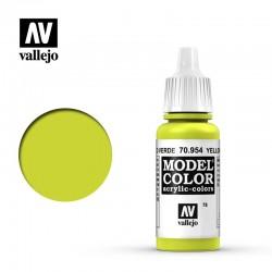 VAL70954 Jaune vert