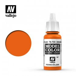 VAL70733 Orange fluorescent