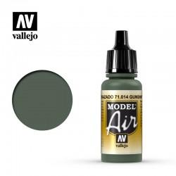 VAL71014 Cuirassé vert