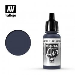 VAL71071 Bleu arctique (métallique)