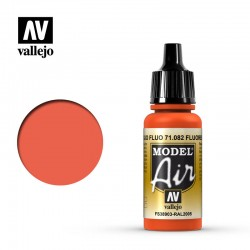 VAL71082 Rouge fluorescent