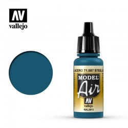 VAL71087 Bleu acier