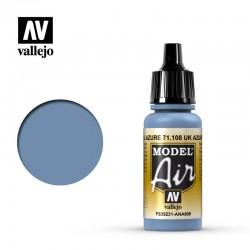 VAL71108 Uk Azure Blue