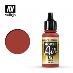 VAL71269 RAL3000 Rot