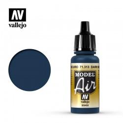 VAL71313 Bleu méditerranéen foncé