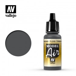VAL71315 Caoutchouc noir