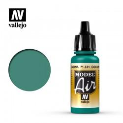 VAL71331 Cabine intérieure verte
