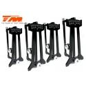 TM507004-EVX Voiture Piste Team Magic 1/10 Electrique - 4WD Touring - RTR - Etanche - Team Magic E4JR II - EVX